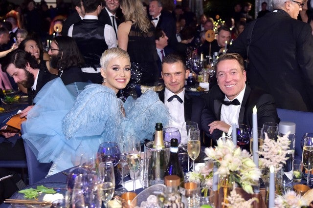 Katy Perry, Orlando Bloom, and Chair Kevin Huvane