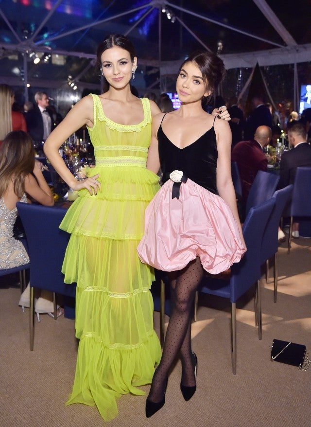Victoria Justice and Sarah Hyland