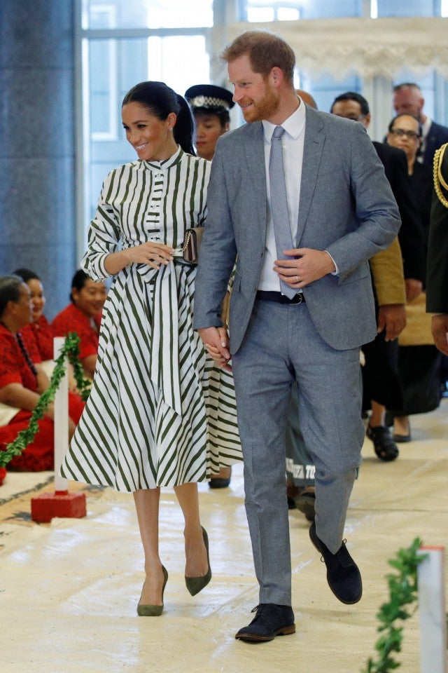 Meghan Markle and Prince Harry in Tonga