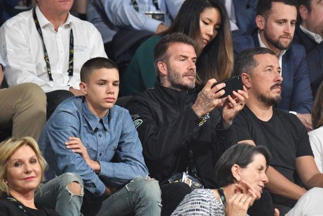 David Beckham Romeo Invictus Games