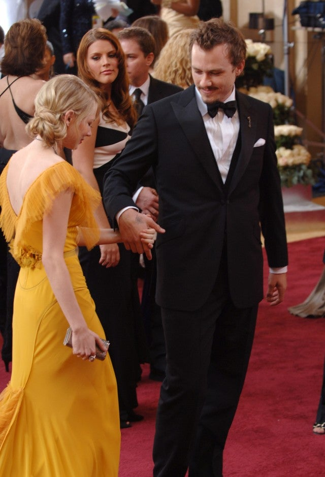 Busy Philipps, Michelle Williams, Heath Ledger Oscars 2006