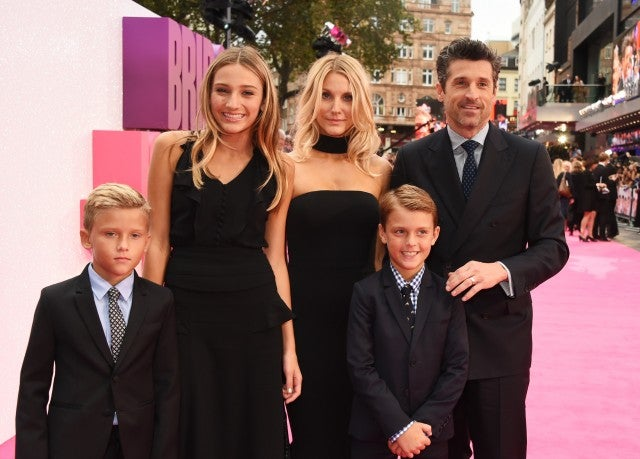 Remarkable, this patrick dempsey family What exactly