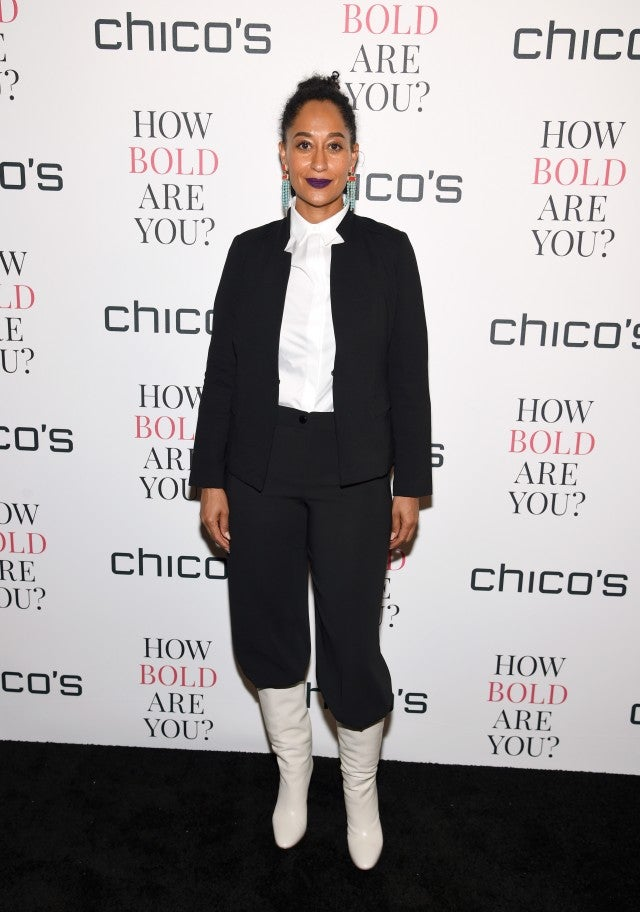 Tracee Ellis Ross slouchy boots