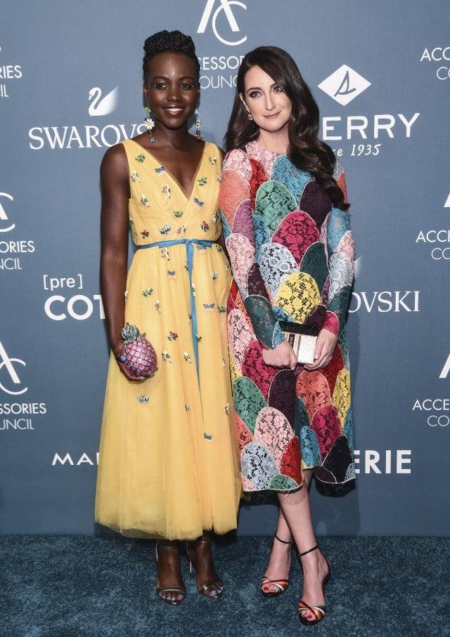 Lupita Nyong O And Micaela Erlanger