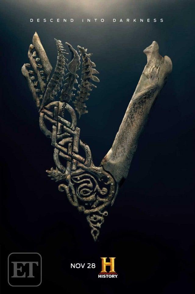 Vikings   Ivar o Desossado é coroado em novo pôster da quinta temporada