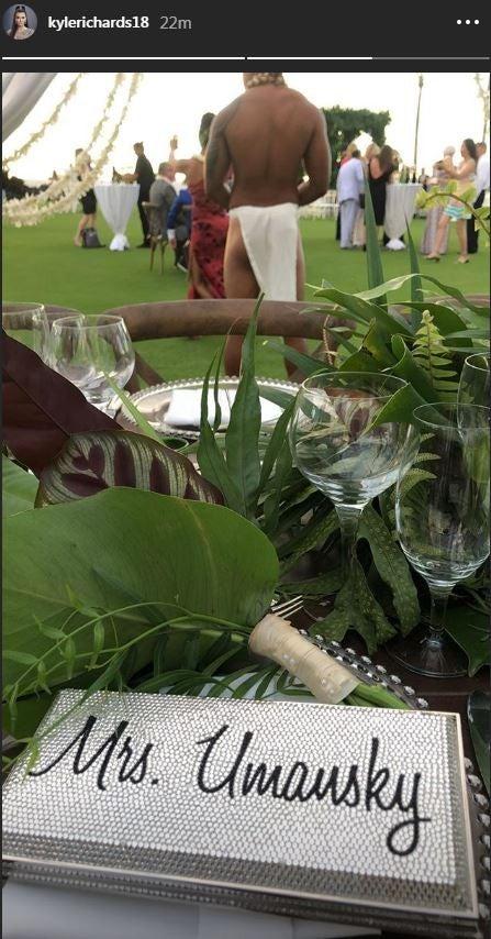 Kyle Richards Camille Grammer Wedding