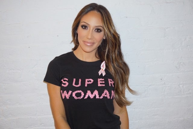Melissa Gorga Breast Cancer Awareness Month