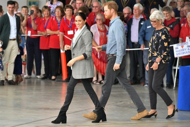 Prince Harry Meghan Markle Day 2 Australia