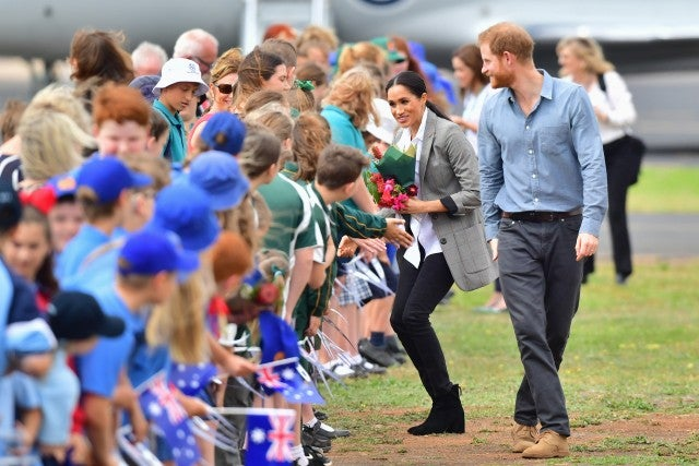 Prince Harry and Meghan Markle Day 2 Australia