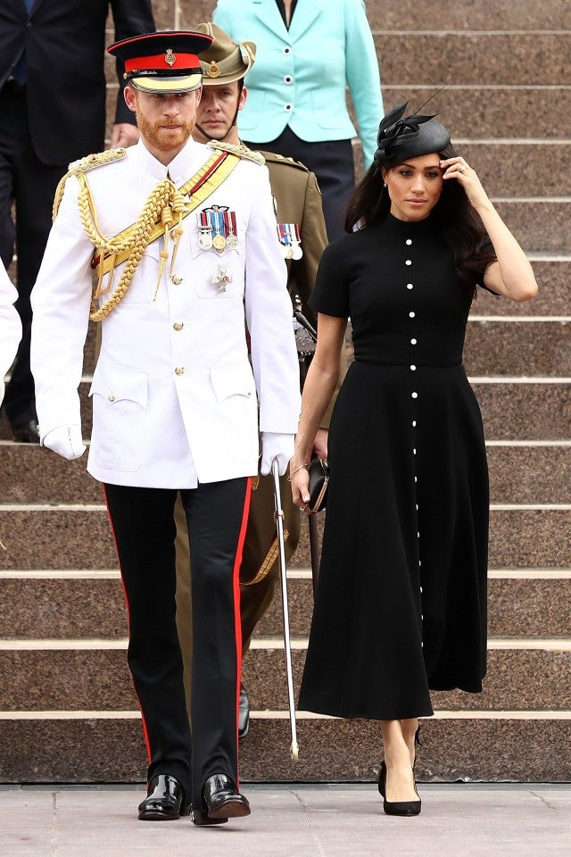 Meghan Markle And Prince Harry Look Regal On Day 5 Of