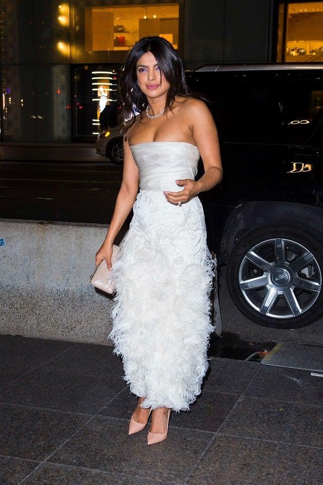 7d6a48409d See Every Pre-Wedding Look Priyanka Chopra Has Worn Before Walking ...