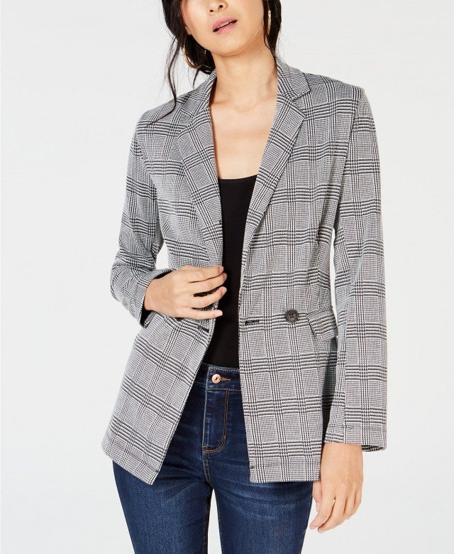 Project 28 NYC plaid blazer