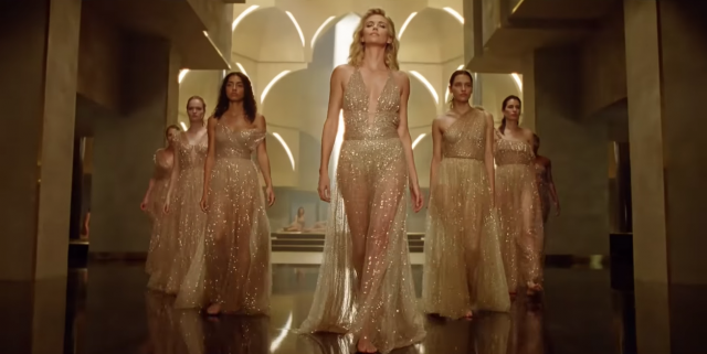 Charlize Theron Is A Golden Goddess In New Fragrance