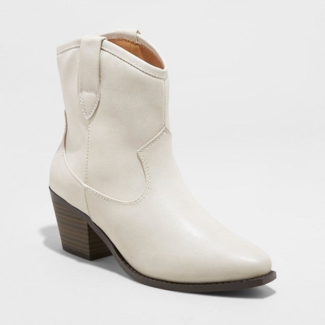 Target white cowboy boots