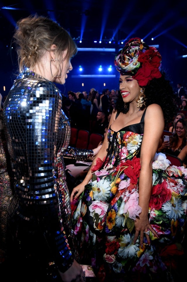 Taylor Swift and Cardi B