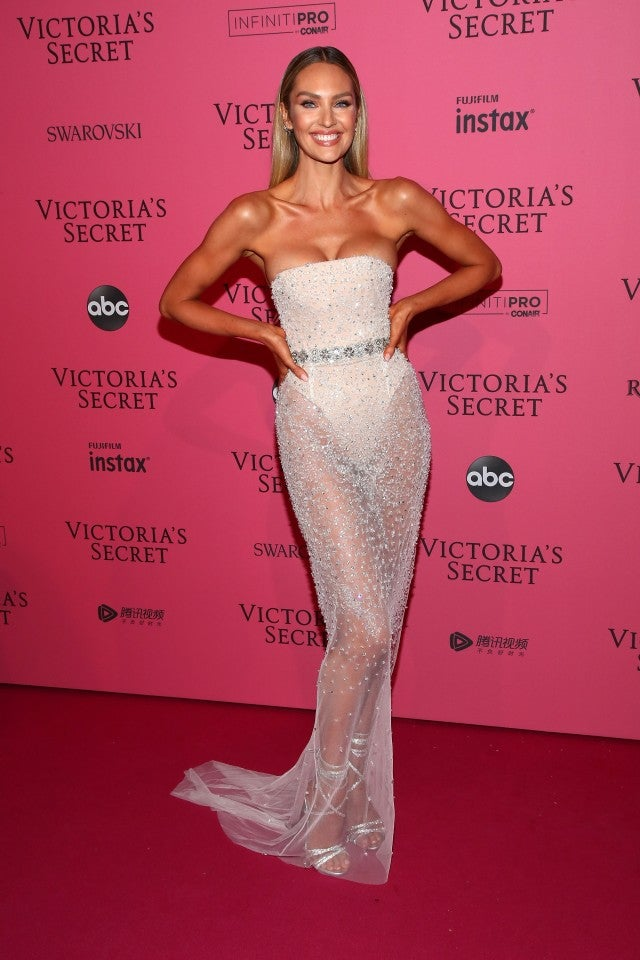 Candice Swanepoel at Victoria's Secret Kind Existing After Occasion
