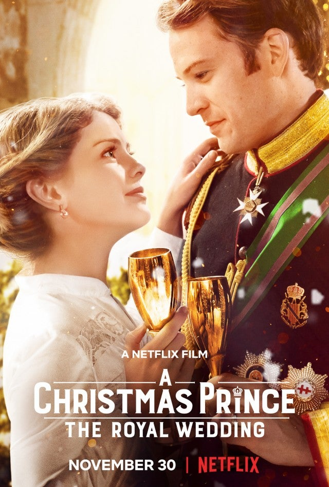 'A Christmas Prince: The Royal Wedding'