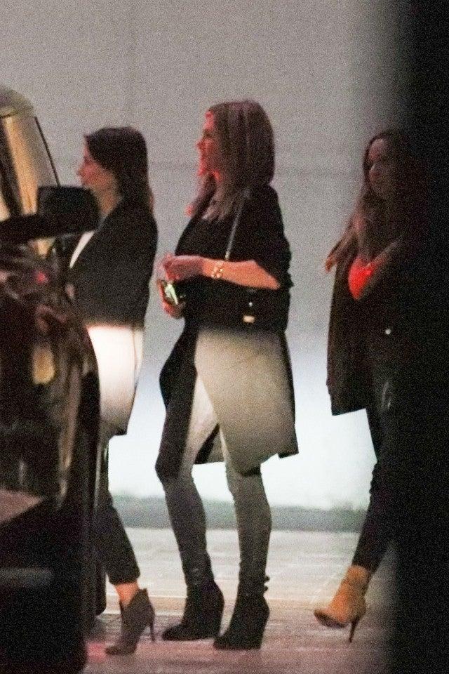 Jennifer Aniston at Leo's Birthday Bash