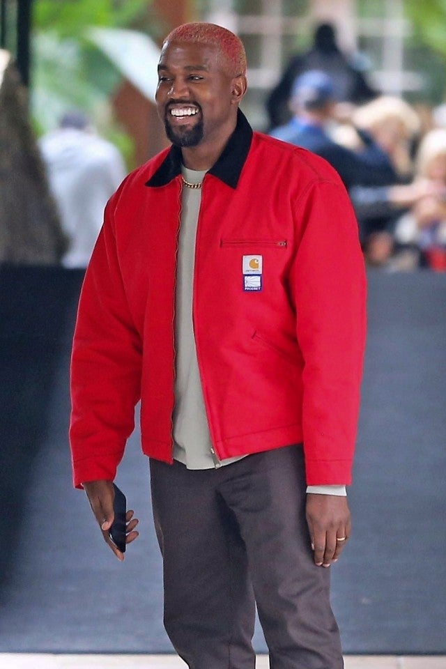 Kanye West in Bel-Air