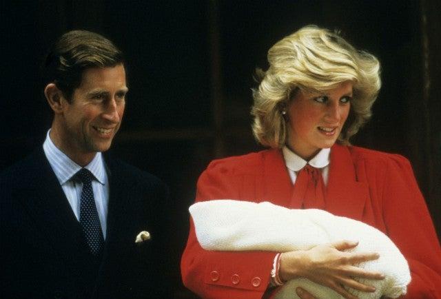 Charles, Diana, Harry
