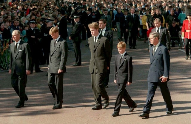Burial of Princess Diana