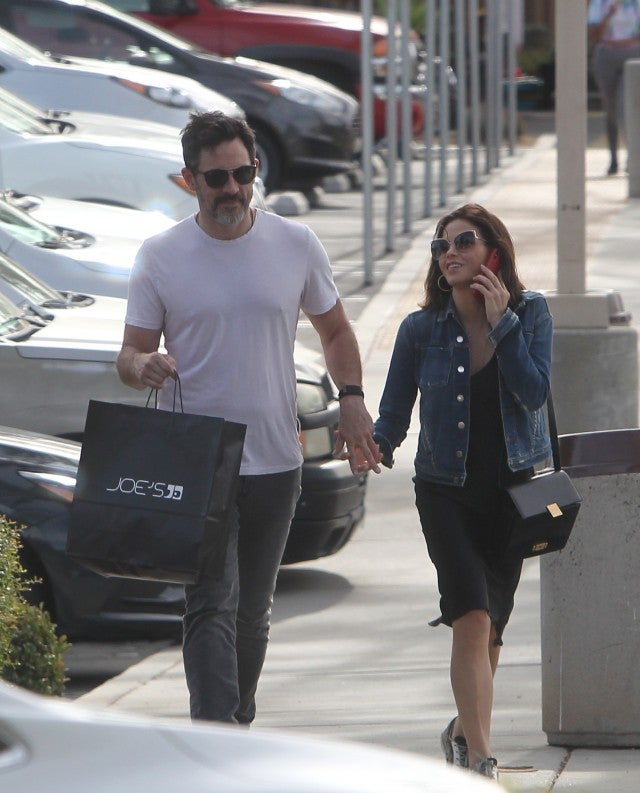 Jenna Dewan and Steve Kazee Step Out Holding Hands