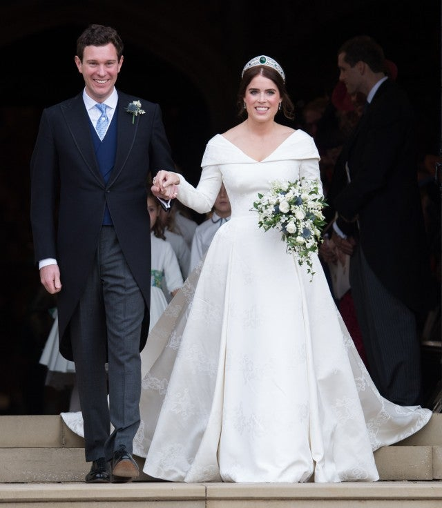 The Princess Eugenie And Jack Brooksbank