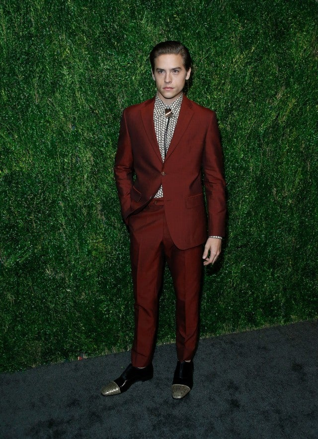 Dylan Sprouse CFDA event