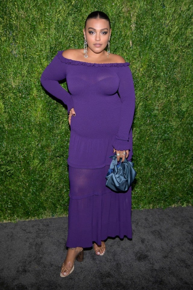 Paloma Elsesser CFDA event