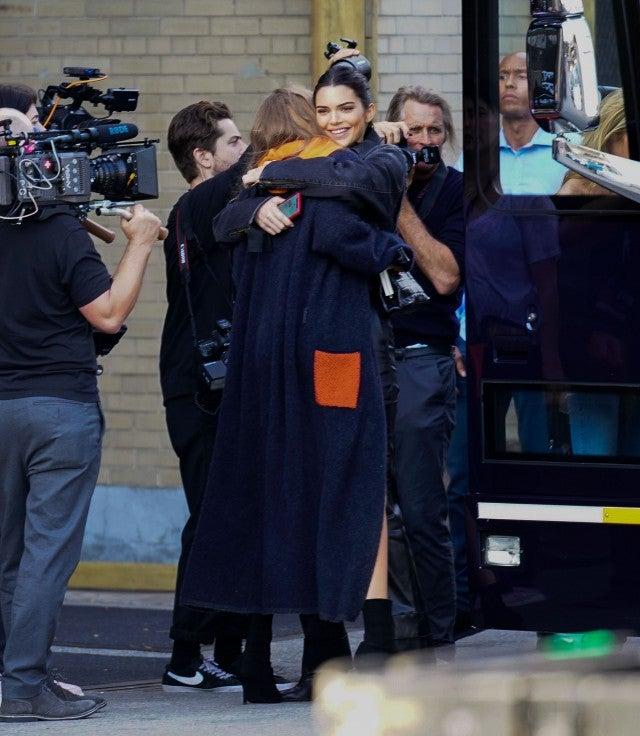 Gigi Hadid and Kendall Jenner hugging