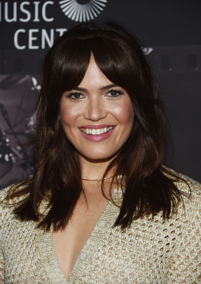 Mandy Moore with bangs