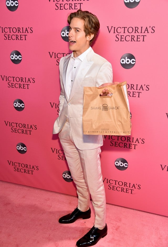 Dylan Sprouse at Victoria's Secret After Occasion