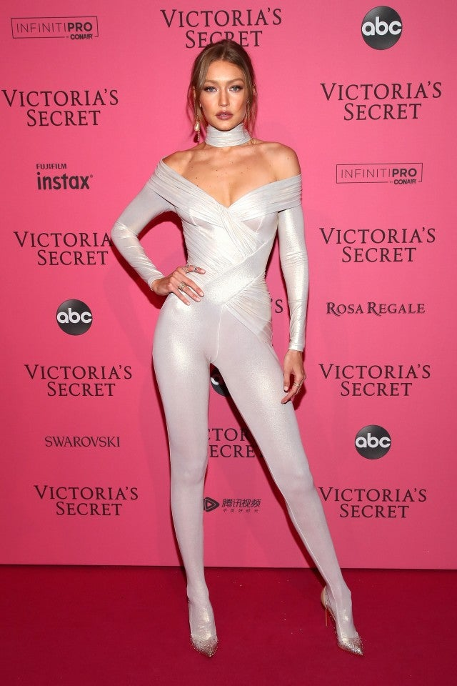 Gigi Hadid Victoria's Secret After Occasion