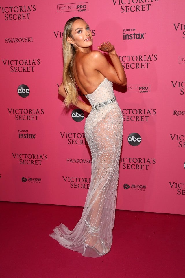 Candice Swanepoel at Victoria's Secret After Party