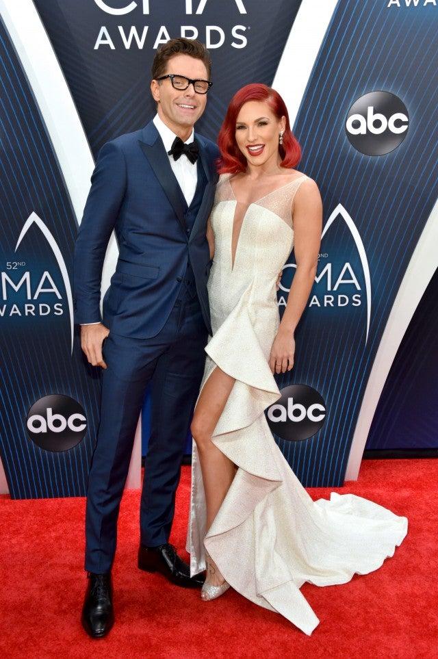 Sharna Burgess Bobby Bones 2018 CMA Awards