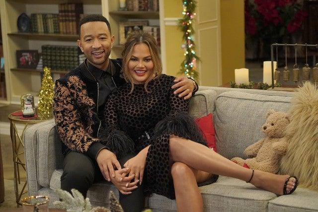 John Legend and Chrissy Teigen Legendary Christmas Special