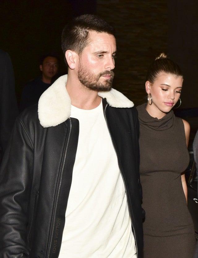 f961e6929da4f Inside Kourtney Kardashian's Dinner With Ex Scott Disick and Sofia ...