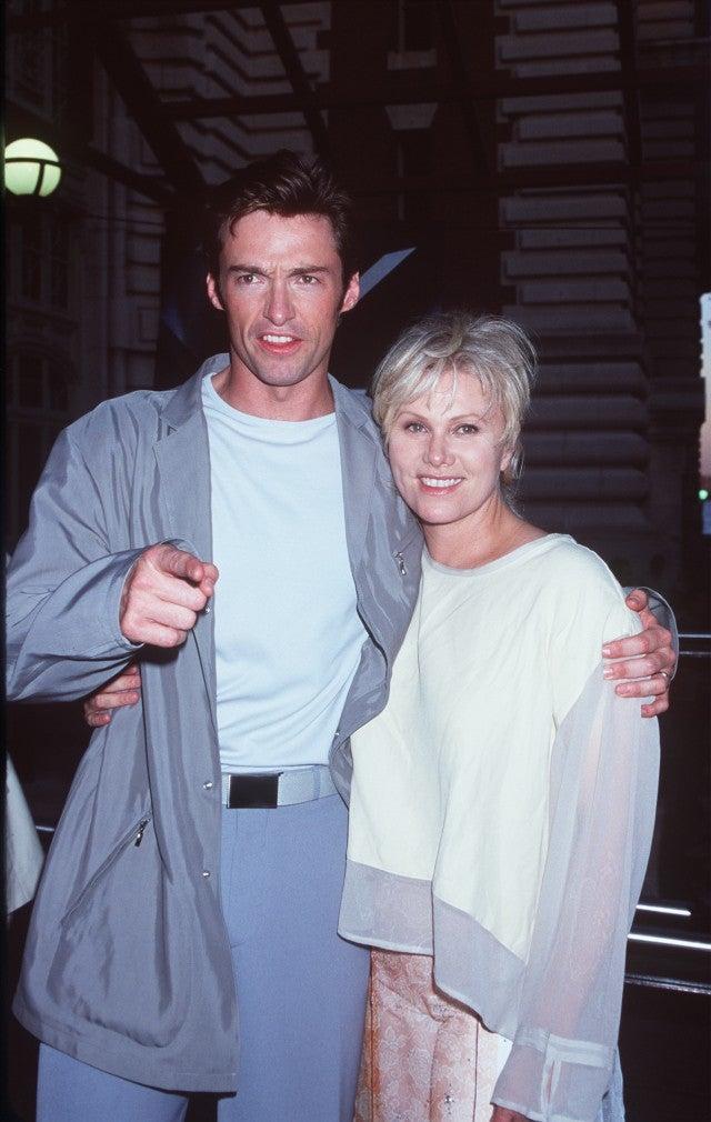 Hugh Jackman and Deborra Lee Furness X-Men Premiere 2000