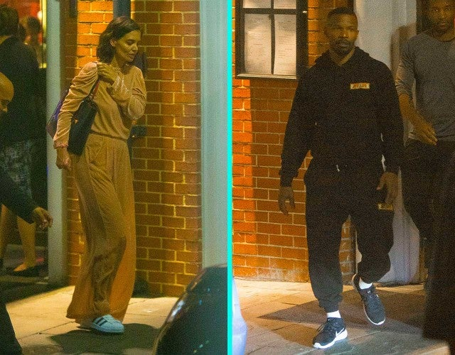 Jamie Foxx and Katie Holmes had a dinner date in New Orleans on Oct. 31