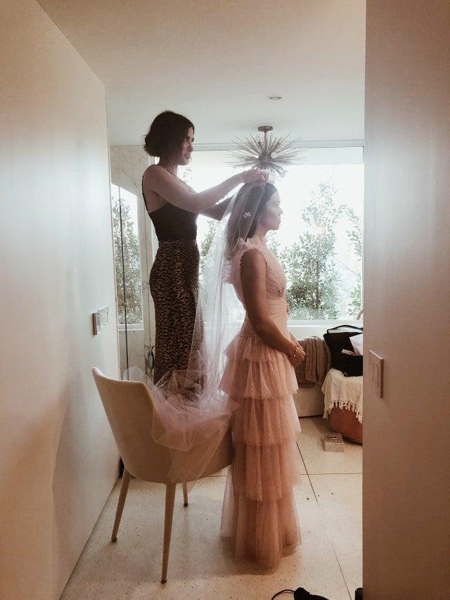Pin Up Wedding Dress
