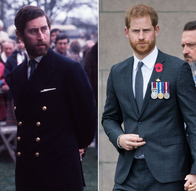 Prince Charles Looks Just Like Prince Harry In Throwback