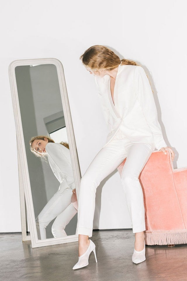 Stella McCartney white suit