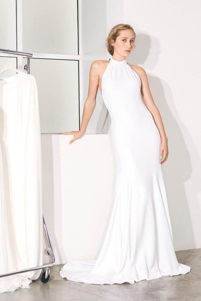 Stella McCartney halter wedding dress