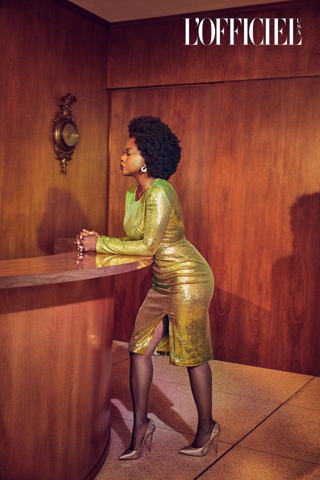 Viola Davis December Cover L'Officiel USA