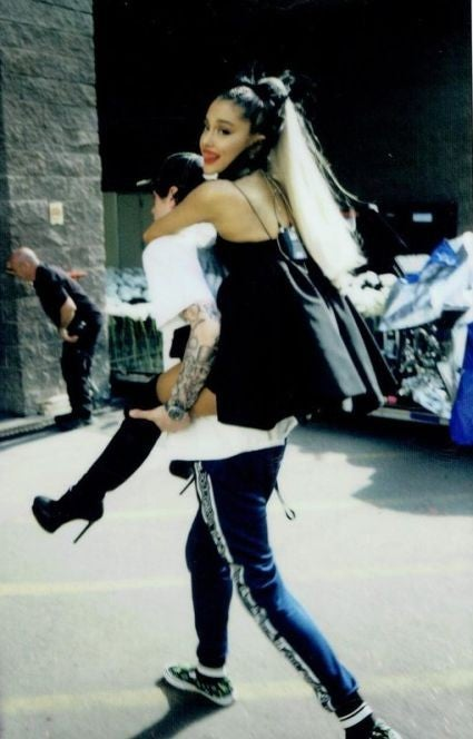 Ariana Grande and Pete Davidson birthday