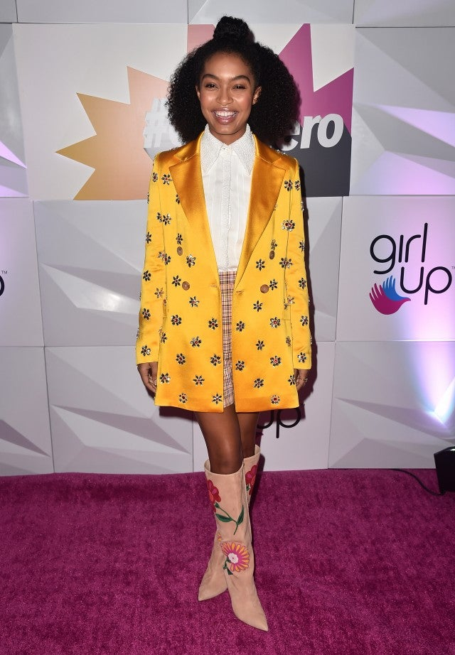Yara Shahidi at Girl Up Luncheon