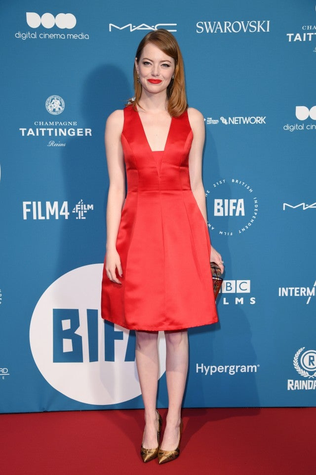 77f0ea6366a Emma Stone at the 21st British Independent Film Awards
