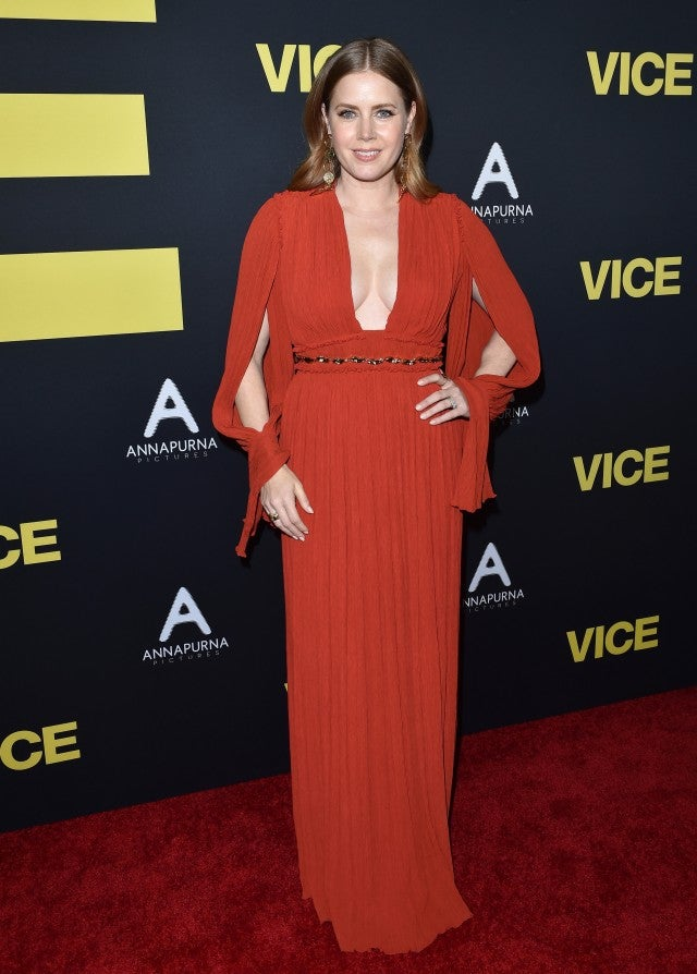 Amy Adams at Vice premiere