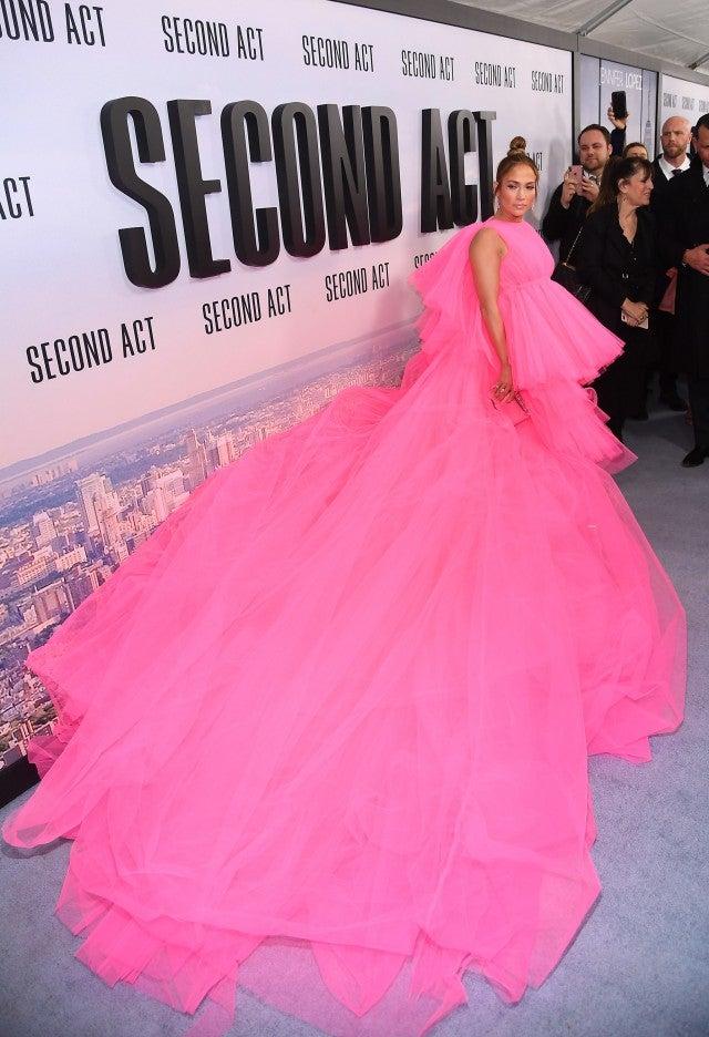 Jennifer Lopez Second Act NY