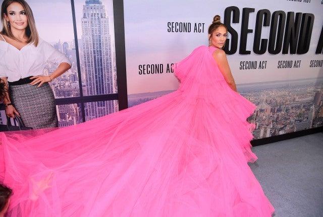 Jennifer Lopez Second Act NY Premiere